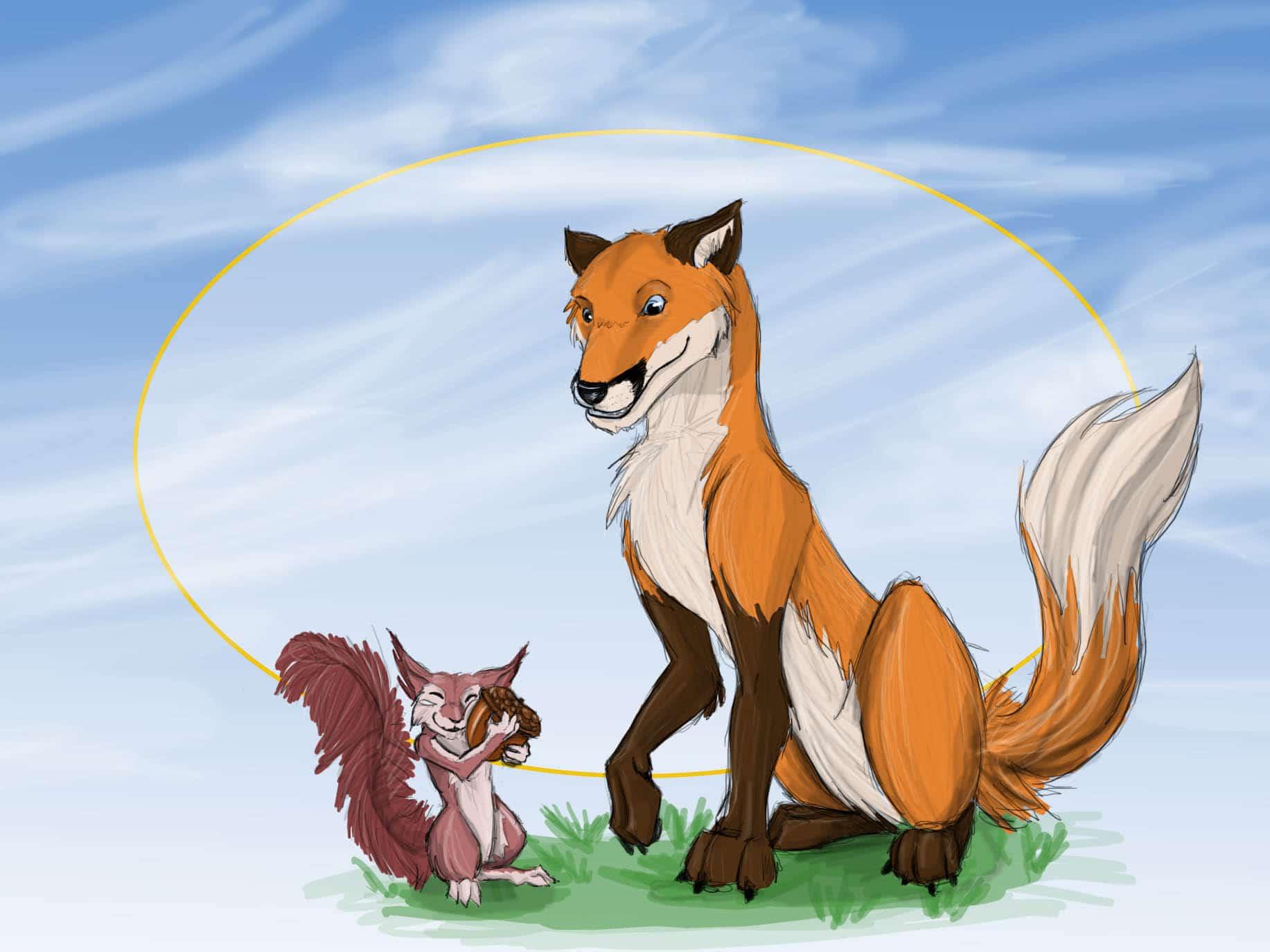 Fawna and Flowerlark by Agent Kanashii