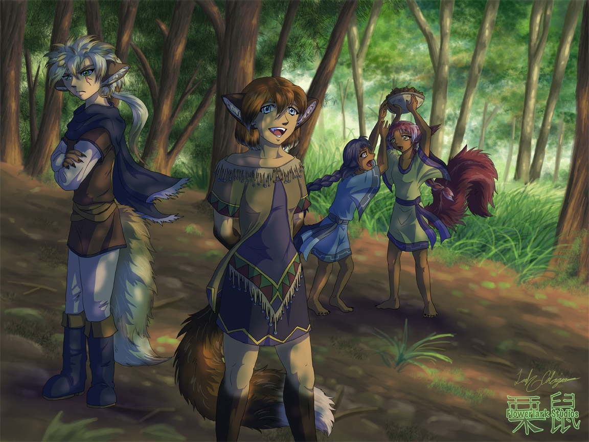 Fawna's Quest Goes Furry