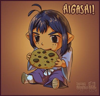 Higashi!