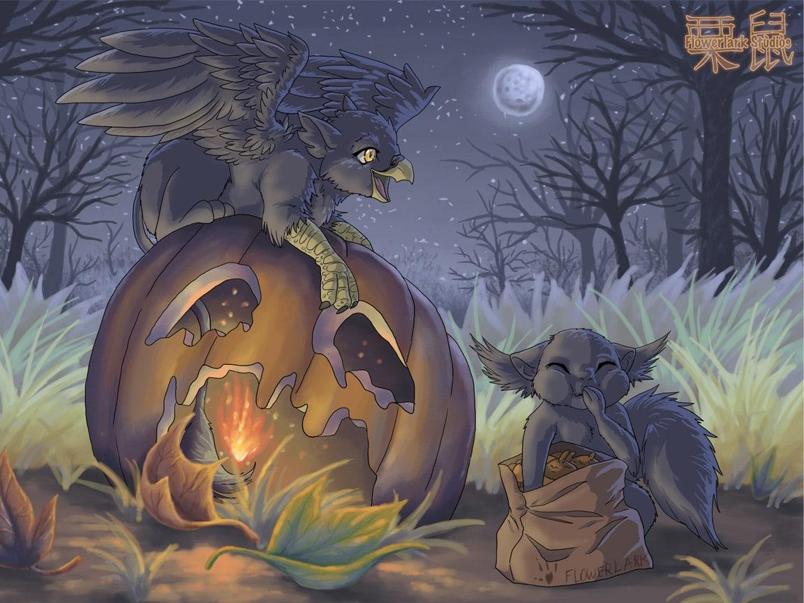 Fawna's Quest Halloween '07