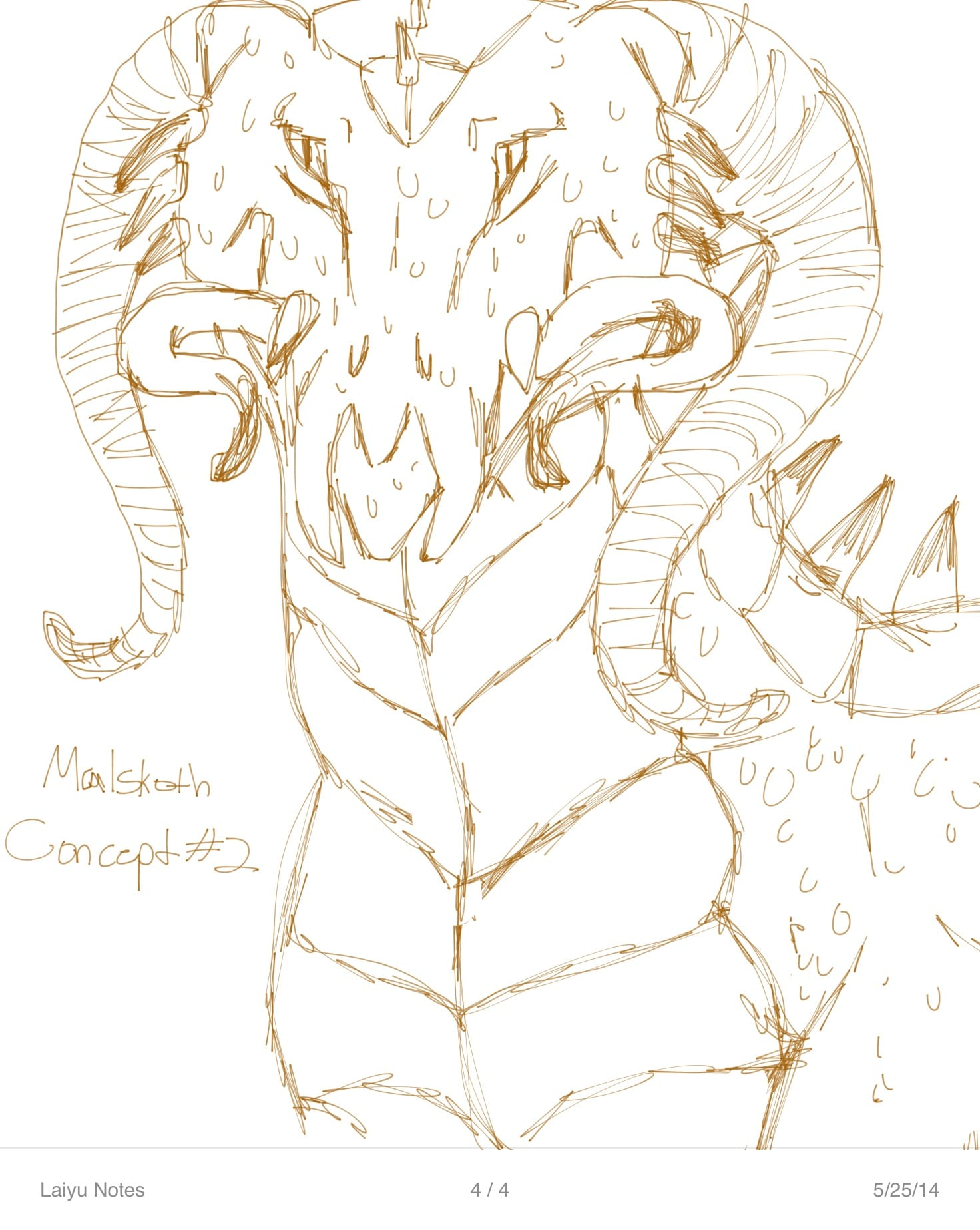 Malskoth (villain) Concept #2