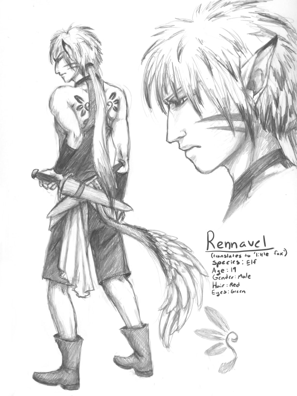 Character Art: Rennavel